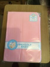 New & Sealed Cotton Fitted Cot-bed Sheet, Colour Pink , 70cm X 140 Cm