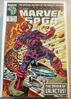 Marvel Saga #24 1987 The ORIGIN of GALACTUS