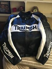 Leather Motorcycle Jacket Triumph