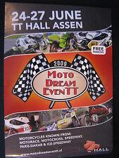 Flyer Moto Dream Event TT Hall Assen 24-27 June 2009 (TTC)