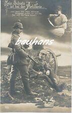 AK Mein Schatz ist bei der Artillerie  (h09)