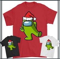 Impostor T-Shirt Parmi US Noël Répéter Jeux Joueur Enfants Hommes Haut