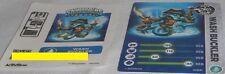 Skylanders Wash Buckler Card & Code ONLY ~ NO FIGURE