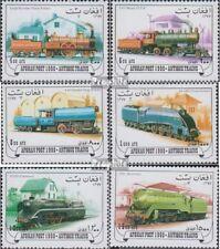 Afghanistan 1768-1773 gestempeld 1998 Oud Stoomlocomotieven