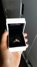 Pandora Rose Gold Princess Crown Ring (size 8)