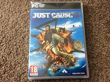PC JUST CAUSE 3 GAME BRAND NEW PC DVD ROM