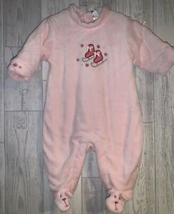Girls Age 0-3 Months - Gap Soft All In One Romper / Sleepsuit - Snowsuit
