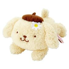 New Sanrio Japan Pom Pom Purin Fluffy Plush Size S (Flower)