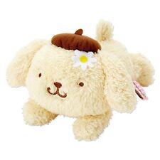 New Sanrio Japan Pom Pom Purin Fluffy Plush Size S (Flower)
