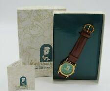 Walt Disney Collectors Society Fossil Jiminy Cricket Watch New in Box 1997