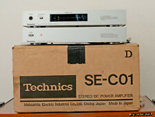 Technics SE-C01 Amplifier w/ SH-C01 Power Supply Unit - Rare World Voltage