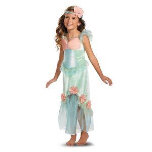 Precious Mystical Mermaid Princess Aqua/Coral Polyester Dress/Headpiece Disguise