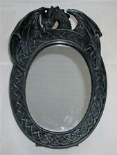 Nemesis Now BLACK DRAGON 27cm DRAGONS REFLECTION' FREESTANDING MIRROR Gothic