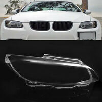 Right Side Headlight Lens Clear Lampshade For BMW 3 Series M3 E92 E93 2006-2010