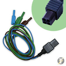 Metrel A1296 Distribution Board Test Leads & Plug Connection (Brown Green Blue)