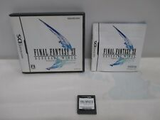 DS - Final Fantasy 12 Revenant Wings - Can data save! Nintendo DS, JAPAN. 48657