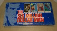 Vintage The Six Million Dollar Man Board Game ~ Complete ~ 1978 Parker Brothers