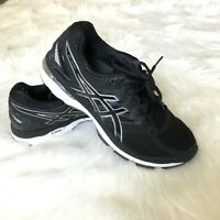Asics Women's Size 9 GT-2000 4 Black Duomax Running Shoes T656N
