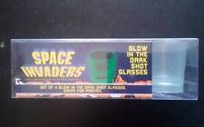 Space Invaders Glow-in-the-Dark Shot Glass 4-Pack
