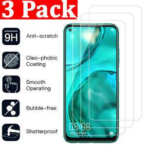 For Huawei Mate 20 30 P10 P20 P30 P40 Lite Tempered Glass Screen Protector 3Pcs