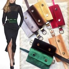 Women's Waist Bag Velour Fanny Pack Retro Velvet Hip Bum Belt Bag