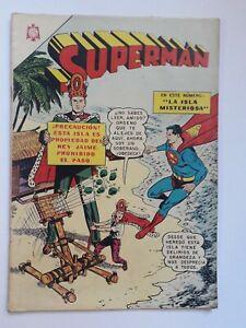 SUPERMAN #566 - ORIGINAL COMIC IN SPANISH - MEXICO - NOVARO