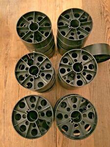 4, Plastic split reel cores 35mm Movie 4 inch Film Core Kodak Black multi hole