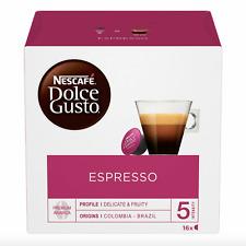 16 Capsules NESCAFE DOLCE GUSTO - Espresso - Intensité 5