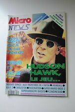 MICRO NEWS N° 52  MAGAZINE NOVEMBRE 1991 NINTENDO SEGA CONSOLE REVUE