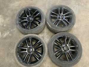 Vauxhall Corsa D Alloy Wheels And Tyres 17 Inch 215 45 17 4 X 100 Set Of 4