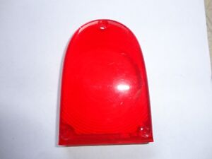 50s 60s NOS RED REAR TURN SIGNAL LENS HILLMAN HUSKY MINX SUNBEAM RAPIER 576586