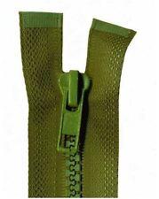 75cm Khaki Open End Chunky Zip