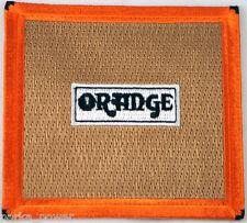 Orange Cabinet Speaker Patch Music, Rock, Bands, Punk