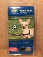 NEW PetSafe Easy Walk Black/Silver Petite Dog Harness Girth Sizes 12-16""