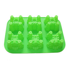 6-Cavity Castle Cake Pan Silicone Mold Bakeware Gelatin Soap Making Party Favors