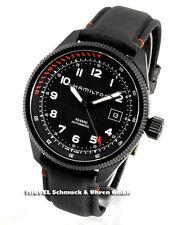 Hamilton Armbanduhren mit Edelstahl-Armband und Datumsanzeige für Herren
