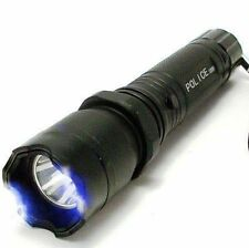 Electro Shocker Flashlight Police Self-Defense (Dog Protection) Without Box