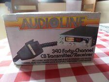 Audioline 340 CB Radio en Caja ** Perfecto Estado **