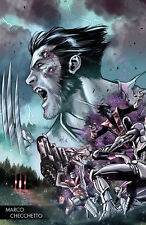 Hunt For Wolverine #1 (2018) G Marco Checchetto Variant