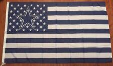 Dallas Cowboys Stars And Stripes 3' x 5' Foot Flag Football Fan Decor Man Cave