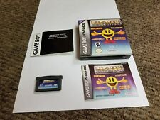 Pac-Man Collection (Nintendo Game Boy Advance, 2001) complete gba
