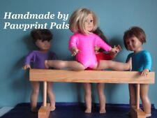 Handmade in USA! Wood Gymnastic Exercise Balance Beam fits American Girl