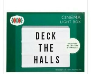 Sign Light Box 90 Letters&Symbols Movie Decor Wemco Cinema Marquee FREE SHIPPING