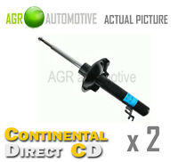 2 x CONTINENTAL DIRECT FRONT SHOCK ABSORBERS SHOCKERS STRUTS OE QUALITY GS3191FL