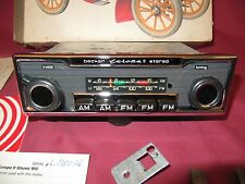 NOS Becker Europa II Stereo Radio Push Button AM FM Porsche Mercedes-Benz 280SL