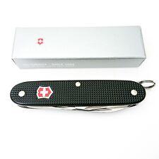 Victorinox alox Pioneer-negro con escudo roja-Swiss Army Knife -
