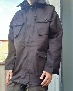 New British Army Black Ripstop Field Jacket SAS  / Police 180/104