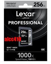 Lexar Professional 1000X 256GB Class 10 SDHC Memory Card - LSD256CRBEU1000