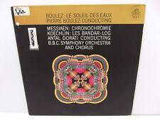 1965 Pierre Boulez Le Soleil Des Eaux Angel Records 36295 Vinyl LP