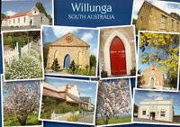 L3392cgt Australia SA Willunga Historic Buildings Multiview postcard